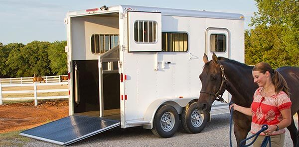 Aluminum Horse Trailers, Livestock Trailers | Exiss Trailers on