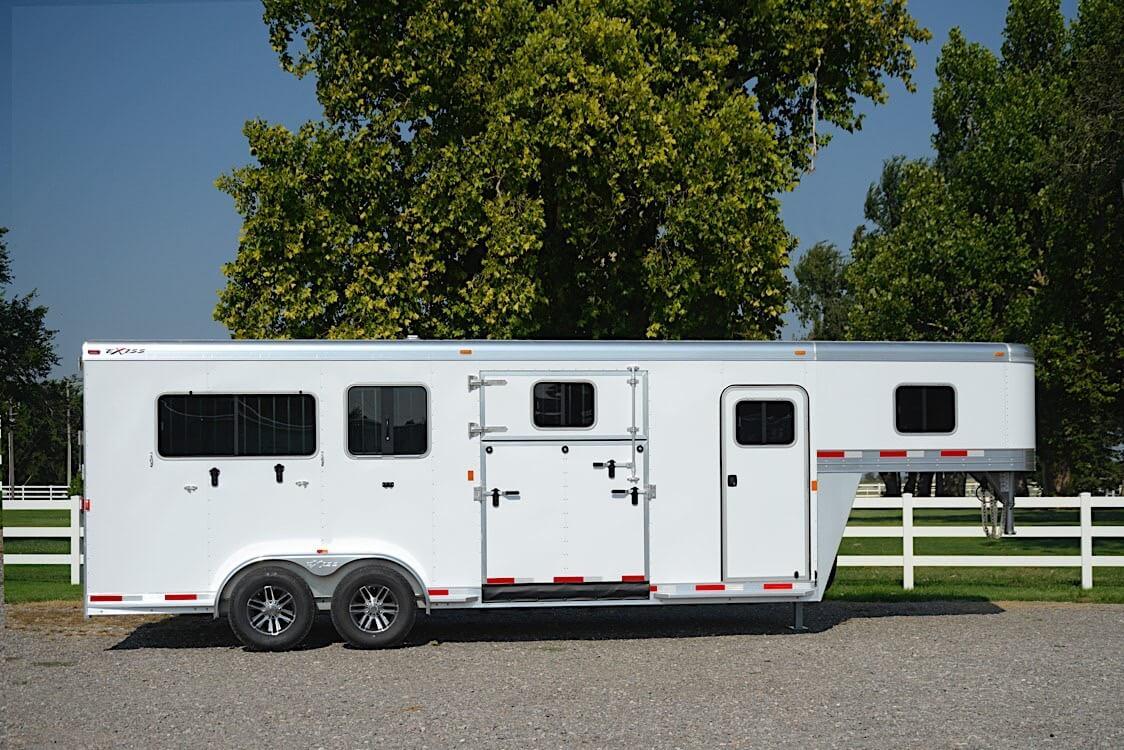 Gooseneck Horse Trailers 7200 Sr 2 1 Horse Trailer
