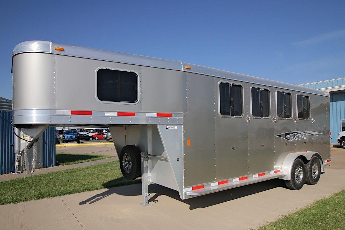 Gooseneck Horse Trailers Express Ss Edition Horse Trailer