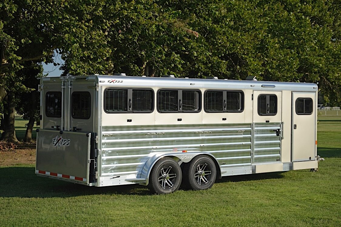 Bumper Pull Low Pro Livestock Trailers 716w 720w Exiss