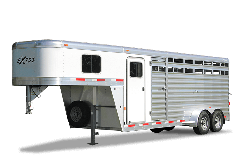 Aluminum Horse Trailers Livestock Trailers Exiss Trailers